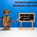 8 žingsnių planas Facebook reklamai